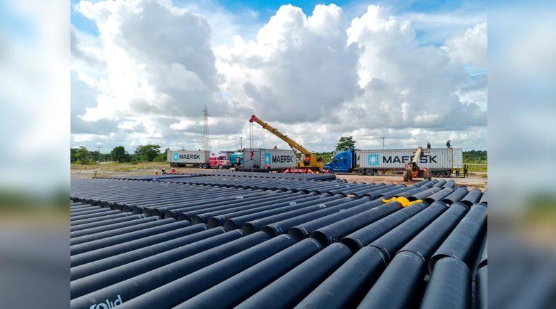 ENACAL avanza con obras de saneamiento en Bluefields