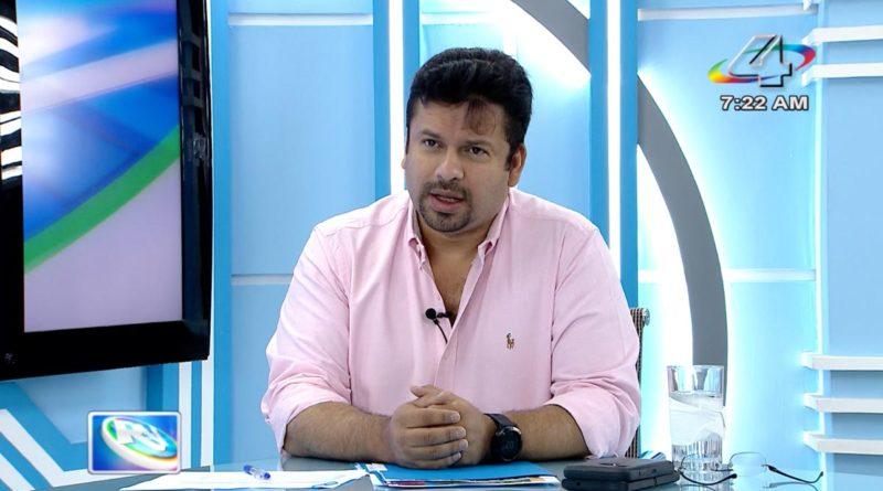 Fidel Moreno, Secretario General de ALMA en la Revista en Vivo, miércoles 29 de septiembre