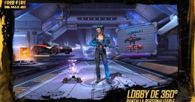 Nuevo lobby del videojuego Free Fire Max