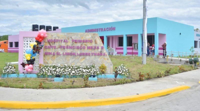 Nuevo hospital primario en Mina El Limón