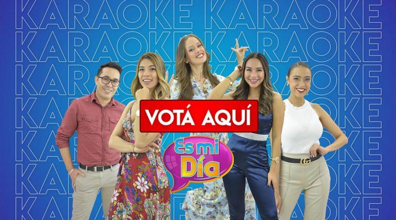 Apoyá a tu presentador favorito de nuestro karaeoke de los jueves en Es Mi Día, podés elegir a Lizandra, Mabel, Idis, Crismara y Junior como tu presentador favorito.