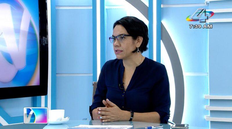 Loyda Barreda del Tecnológico Nacional en la Revista en Vivo, lunes 27 de septiembre