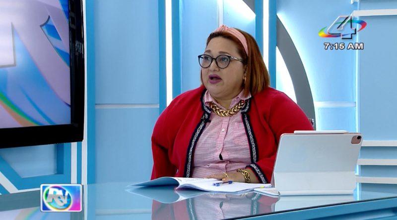 Magistrada Brenda Rocha y Ministra Martha Reyes en la Revista en Vivo, jueves 23 de septiembre