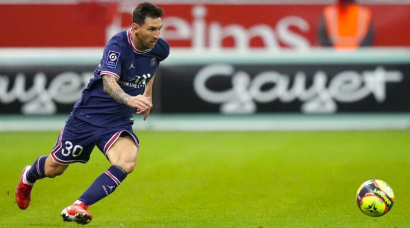 Messi anota su primer gol con el París Saint-Germain