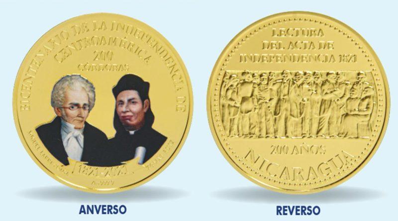 Moneda Conmemorativa del Bicentenario de la Independencia de Centroamérica