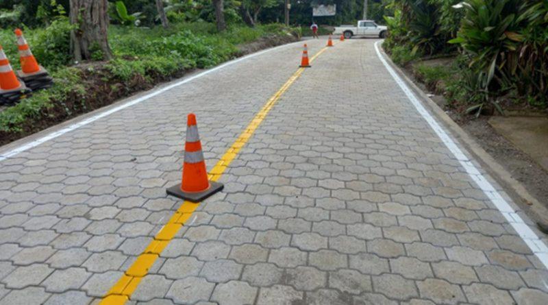 MTI y alcaldías entregarán proyectos de calles en Diriamba, San Lorenzo y Masatepe