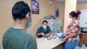 Pago a trabajadores del Ministerio de Trabajo en Managua
