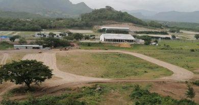 Área donde se construirá la pista de atletismo en la ciudad de Matagalpa.