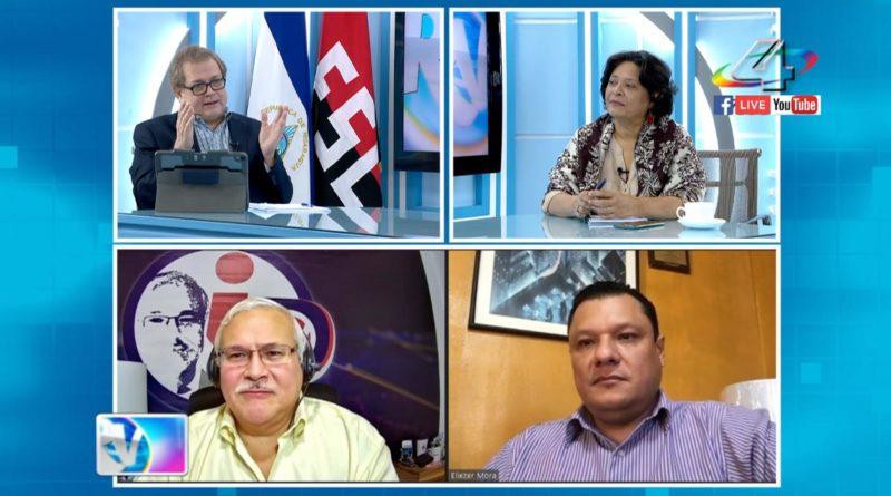 Tirsa Sáenz, Adolfo Pastrán y Eliezer Mora en la Revista en Vivo, martes 21 de septiembre de 2021