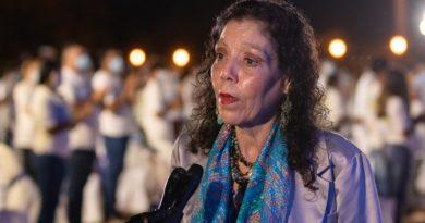 Declaraciones de la Compañera Rosario Murillo después del Acto Central en Conmemoración del Bicentenario de Centroamérica.