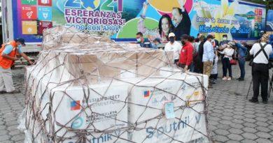130 mil nuevas dosis de vacuna Sputnik-V llegan a Nicaragua