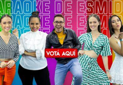 Aquí podés votar presentadora favorita del Karaoke de Es Mi Día