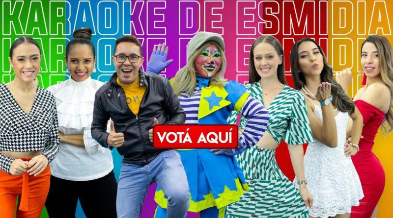 Votá aquí por Lizandra, Kenia, Mabel, Crismara, Idis, Junior y ahora en su debut, a la payasita Vitola en el Karaoke de Es Mi Dia.