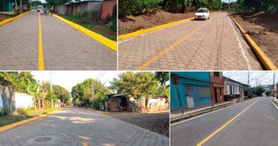 Calles para el Pueblo, nuevas y mejoradas, a las familias de 29 Municipios, entre el 11 y el 17 de Octubre.