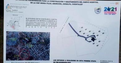 """Planos del Hospital """"CMP Asunción"""" en Juigalpa, Chontales"""