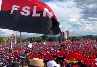 Bandera del FSLN