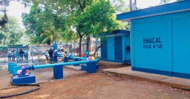 Nuevo pozo de agua potable inaugurado por ENACAL en el distrito III de Managua