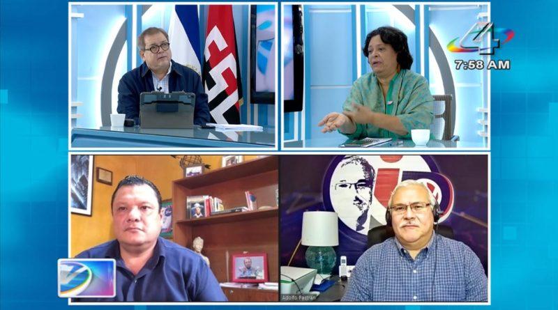 Tirsa Sáenz, Adolfo Pastrán y Eliezer Mora en la Revista en Vivo, martes 19 de octubre de 2021