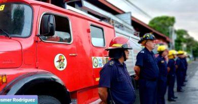 Cuerpo Unificado de Bomberos envía nuevas unidades a San José de Bocay, Jinotega
