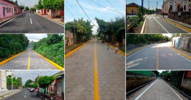 Calles nuevas para ser entregadas en 19 municipios de Nicaragua