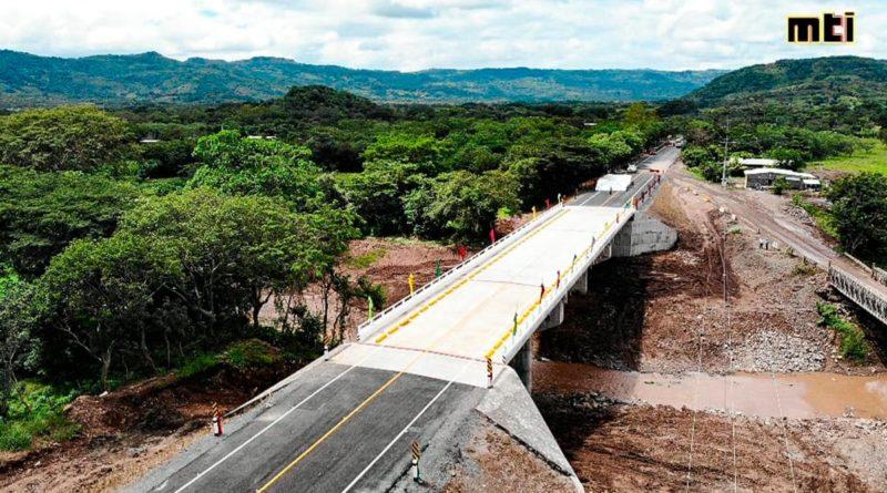 Gobierno Sandinista inaugura nuevo Puente de Conexión Estratégica en Chontales