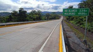 MTI inaugura carretera de Circunvalación Río Blanco - Matagalpa