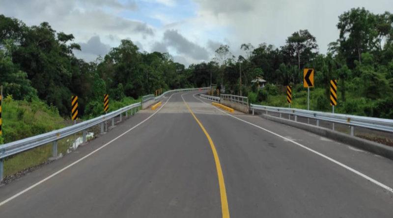 Nueva carretera a inaugurarse este próximo miércoles 20 de octubre