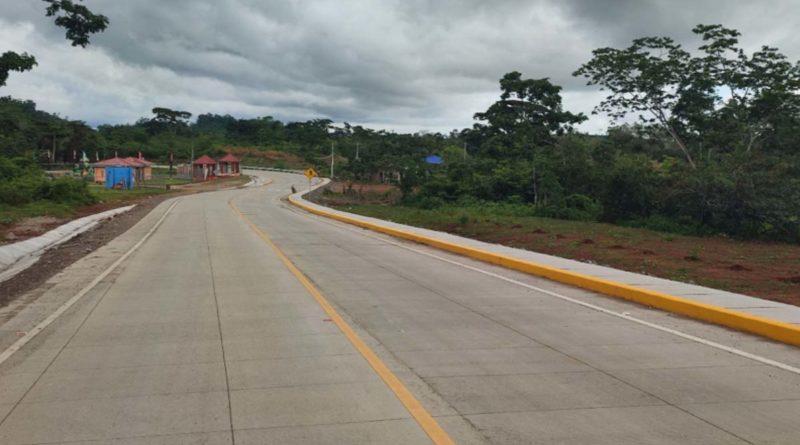 Carretera entre Rosita y Sahsa a inaugurarse este miércoles