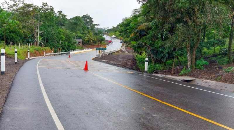 Carretera La Esperanza - Wapí – El Tortuguero, Tramo III
