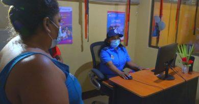 Familias de El Jícaro realizan relanzamiento de la Comisaría de la Mujer
