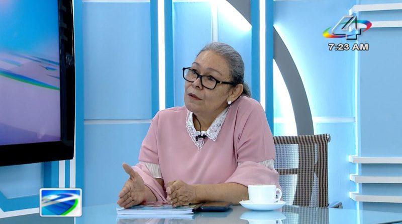 Diputada Maritza Espinales en la Revista en Vivo, miércoles 6 de octubre de 2021