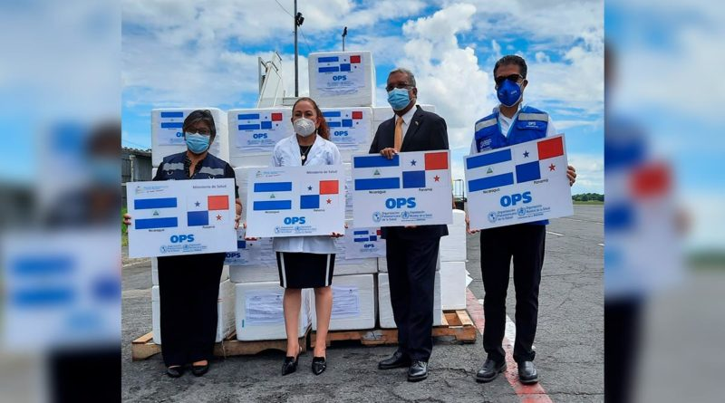 Nicaragua recibe donación de 243 mil, 880 dosis de vacunas AstraZeneca de Panamá