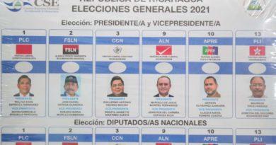 Elecciones generales libres, plurales y transparentes en Nicaragua