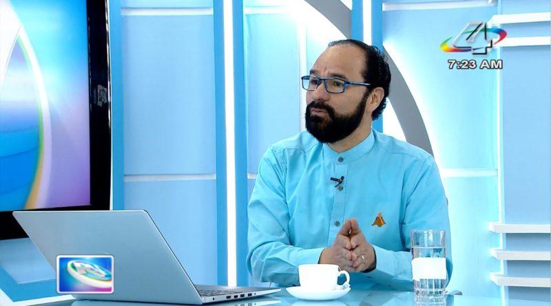 Diputado Carlos Emilio López en la Revista en Vivo, miércoles 20 de octubre