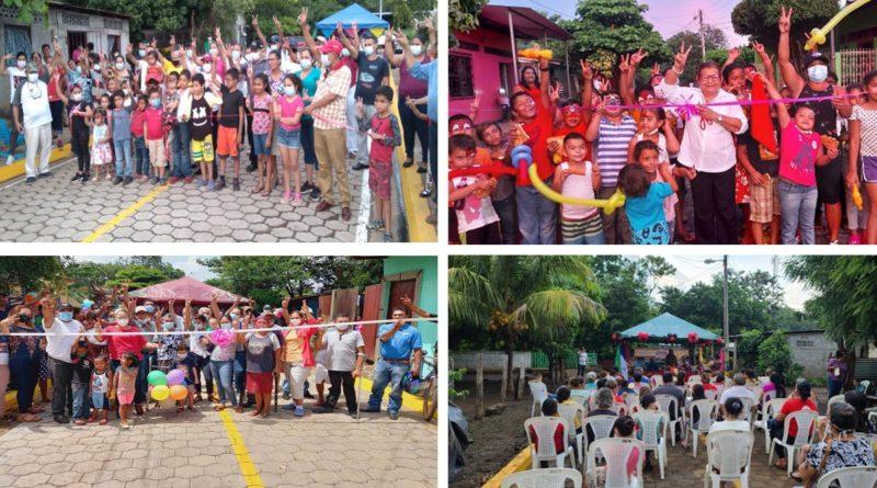 Gobierno Sandinista entregará 368 calles para el pueblo en 29 municipios