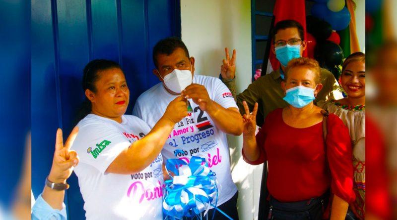 Gobierno Sandinista entrega viviendas a familias de Nindirí