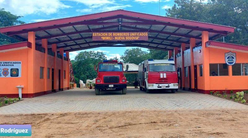 Nueva estación de bomberos inaugurada en Wiwilí