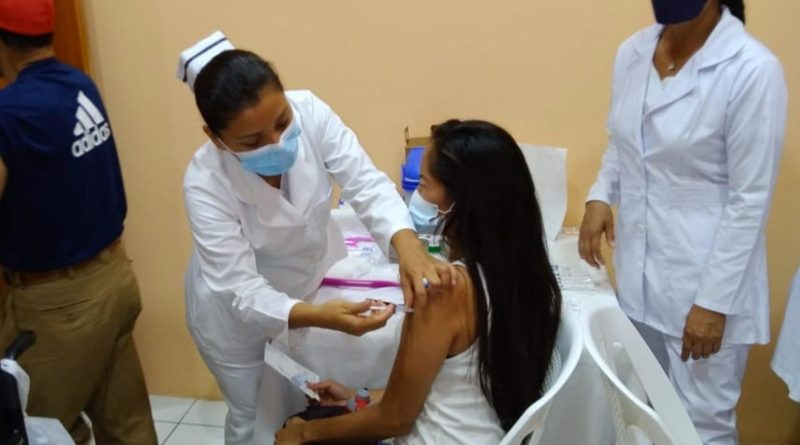 MINSA desarrolla en Estelí Jornada de vacunación contra el Covid-19