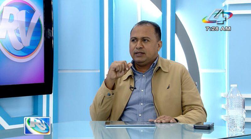 Viceministro del MAG, Isidro Rivera en la Revista en Vivo con Alberto Mora, jueves 21 de octubre.
