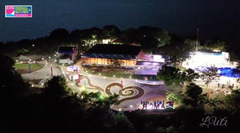 Vista aérea de la Isla del Amor