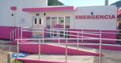 Vista del área de emergencia del hospital de San Juan de Limay