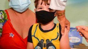 A partir del 20 de octubre llegarán a Nicaragua vacunas cubanas para inmunizar a menores de edad