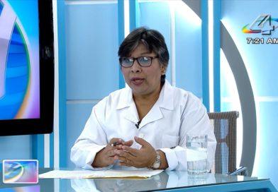 Ministra de Salud, Martha Reyes en la Revista en Vivo, miércoles 13 de octubre