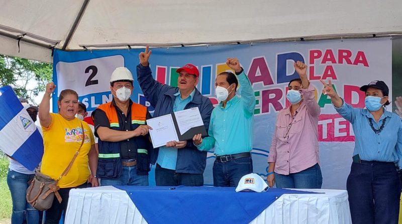 Gobierno Sandinista inicia construcción de Carretera que conectará a Estelí y León
