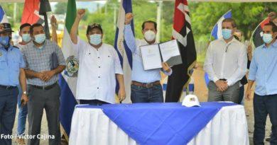 Gobierno Sandinista inicia obras de Modernización de la Carretera Tipitapa - San Benito