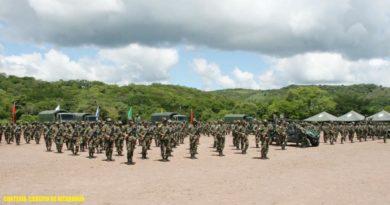 Ejército de Nicaragua realiza acto de apertura de protección de la cosecha cafetalera en Estelí, Madriz y Nueva Segovia