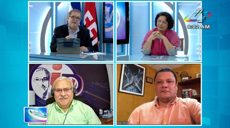 Tirsa Sáenz, Adolfo Pastrán y Eliezer Mora en la Revista en Vivo, martes 26 de octubre de 2021