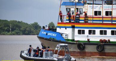 Ejército de Nicaragua participa en Ejercicio de Seguridad Portuaria en el puerto El Bluff