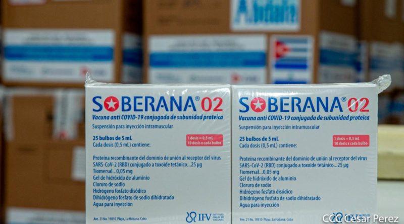 Vacuna cubana Soberana 2 contra la COVID-19
