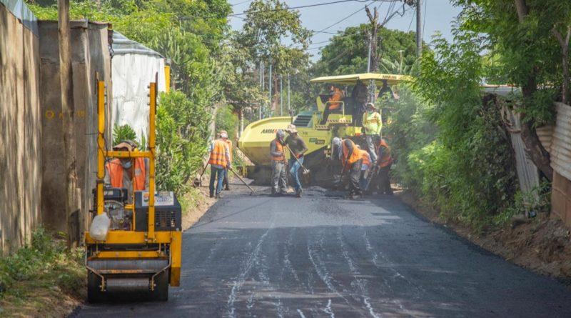 Ejecutan obras del Programa Calles para el Pueblo en Anexo Villa Venezuela